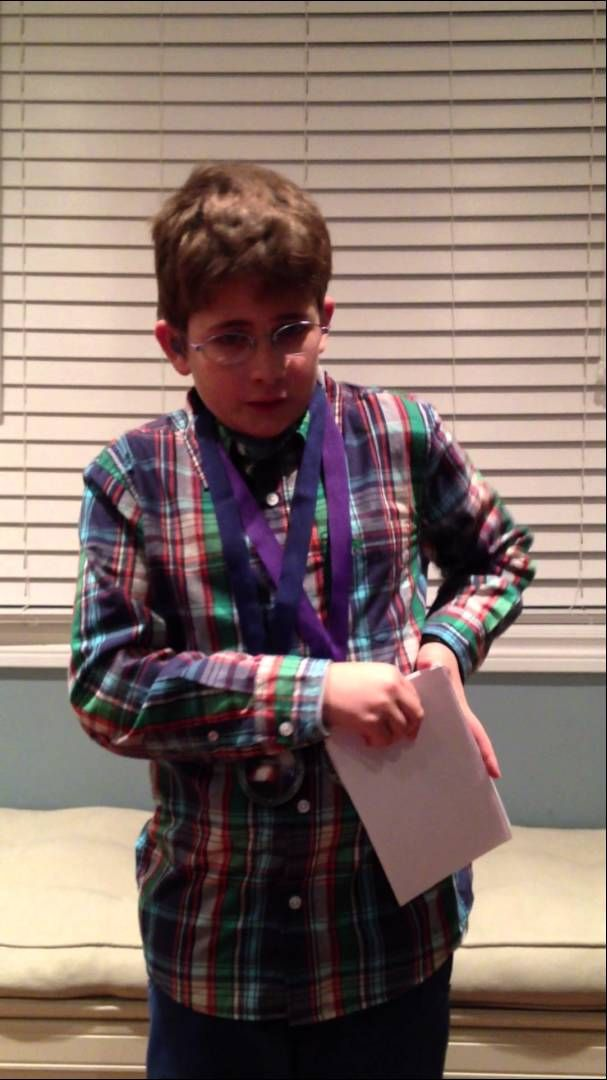 Ethan's Speech on Usher Syndrome