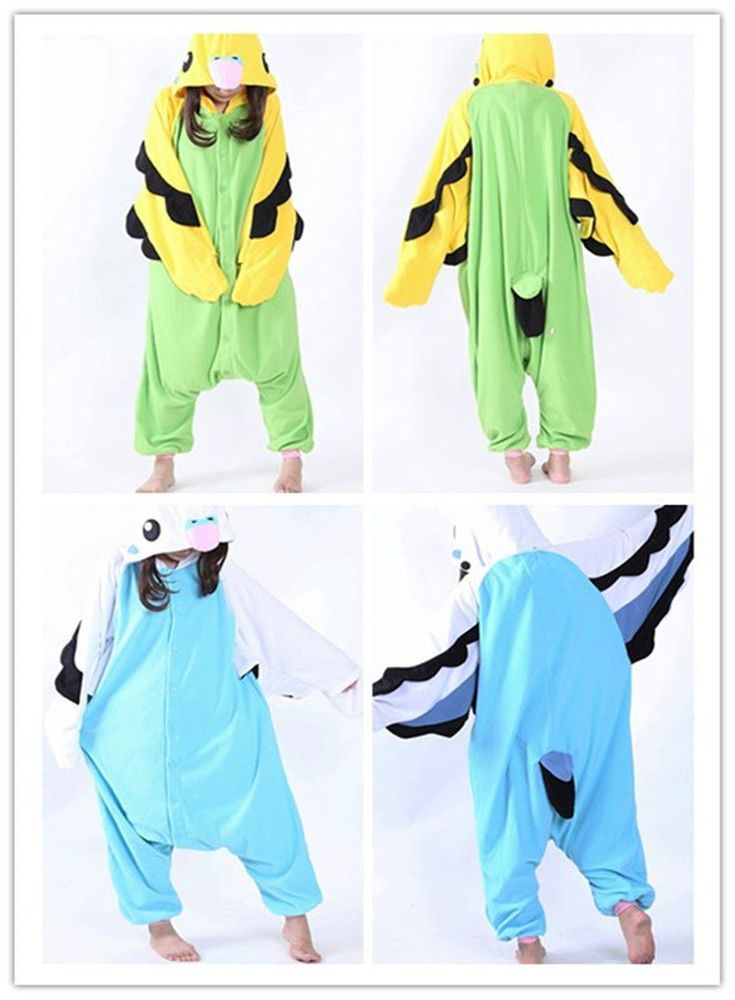 Animal Parrot Costume Kigurumi Cosplay Onesie Sleepwear Unisex Adult Pajamas | Clothing, Shoes & Accessories, Costumes, Reenactment, Theater, Costumes | eBay!