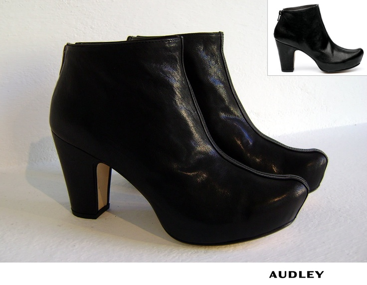 Audley Shoes - Scarpa Gloria Black Crispado