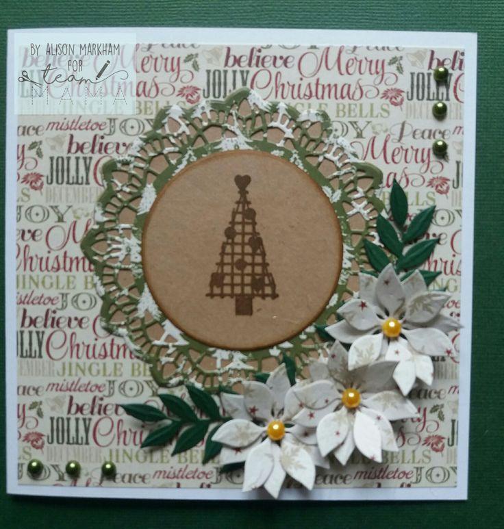 Made using Mama Makes Cosy Christmas stamps.