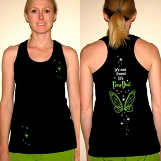 Pixie Wings Running Shirt - MouseTalesTravel.com  #MTT #rundisney #fitmouse #getfit