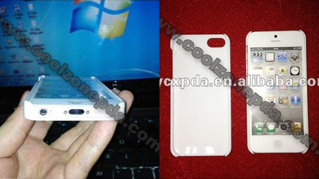 Chinese Case Maker Reveals Potential iPhone 5 Design
