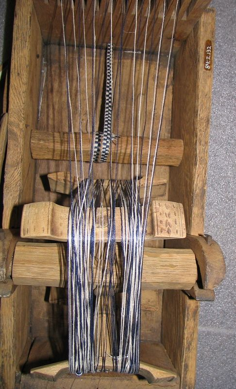 18th Century Tape Loom - Heather's Pages | 18th century ...