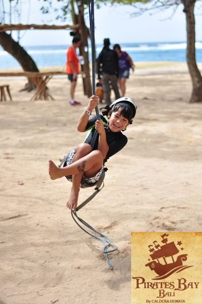 Little Pirates  #Lunch #Dinner #Activity - The Pirates Bay Nusa Dua Bali l Indonesia