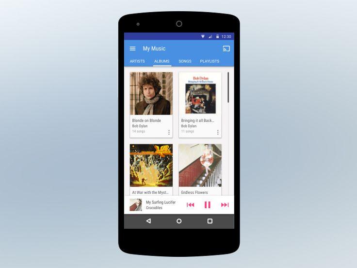 Mobile Material Music Player // Craig Hooper