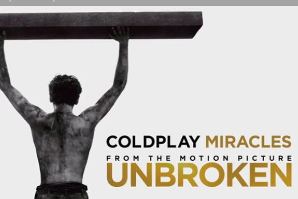 """Nova música do Coldplay para o filme """"Invencível"""" - http://metropolitanafm.uol.com.br/musicas/nova-musica-coldplay-para-o-filme-invencivel"""