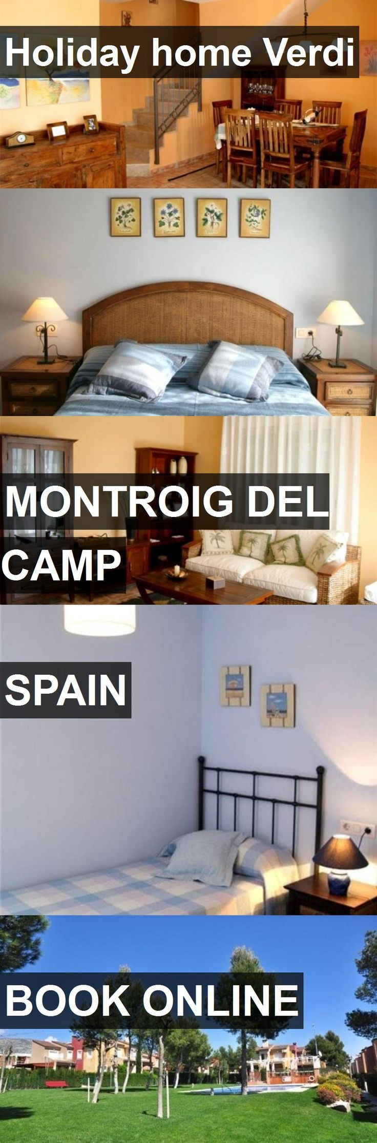 Hotel Holiday home Verdi in Montroig del Camp, Spain. For more information, photos, reviews and best prices please follow the link. #Spain #MontroigdelCamp #travel #vacation #hotel