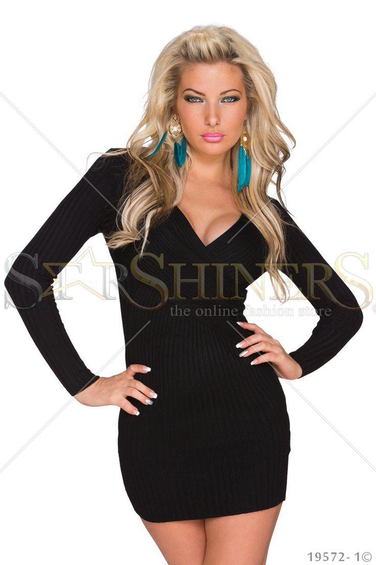 High Temperature Black Dress