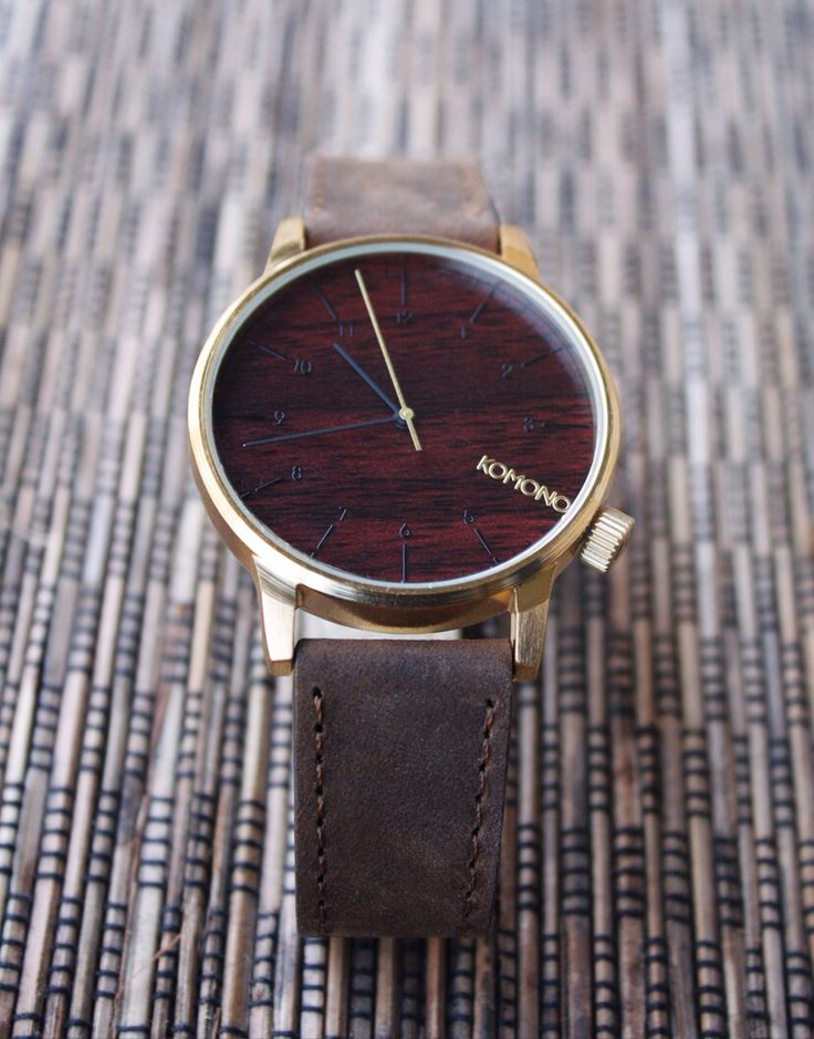 It's finally arrived this #winstongoldwood watch. This is what we call the real #gentleman style. Get it now on our webstore WWW.NOHOWSTYLE.COM