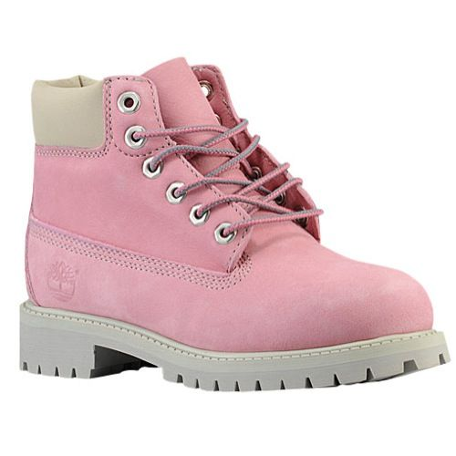 Pink Timberlands                 I had a pair of these as a kid