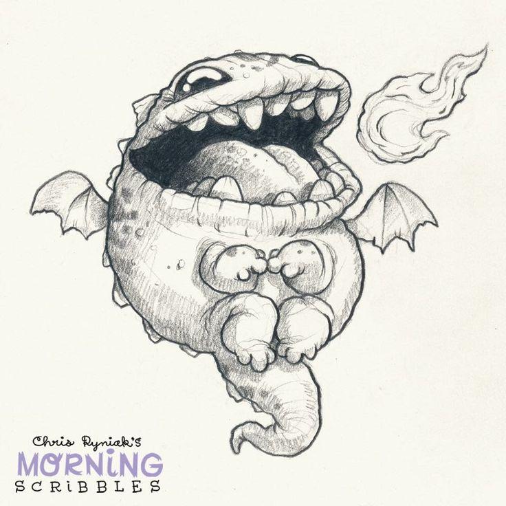 Cute creature art by Chris Ryniak