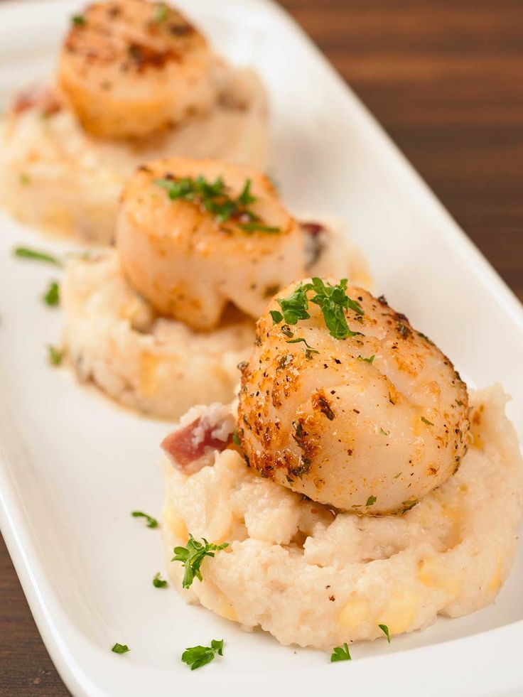 Scallops on Pinterest | Scallops, Seared Scallops and Scallop Recipes ...