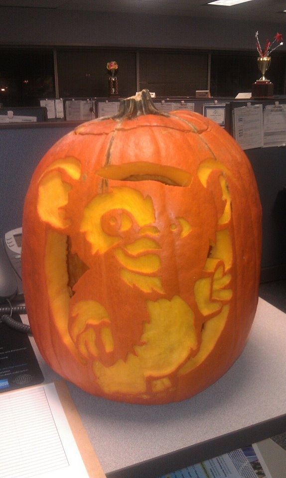 17 best images about halloween on pinterest ghostbusters for Sully pumpkin template