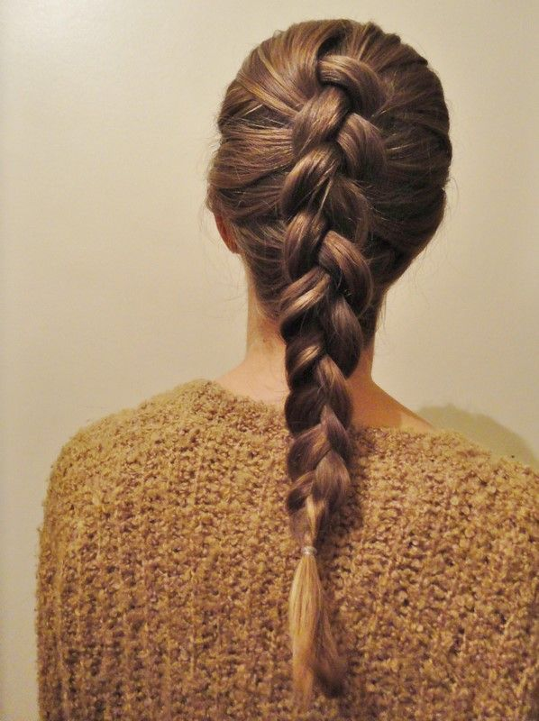 Classic Dutch Braid
