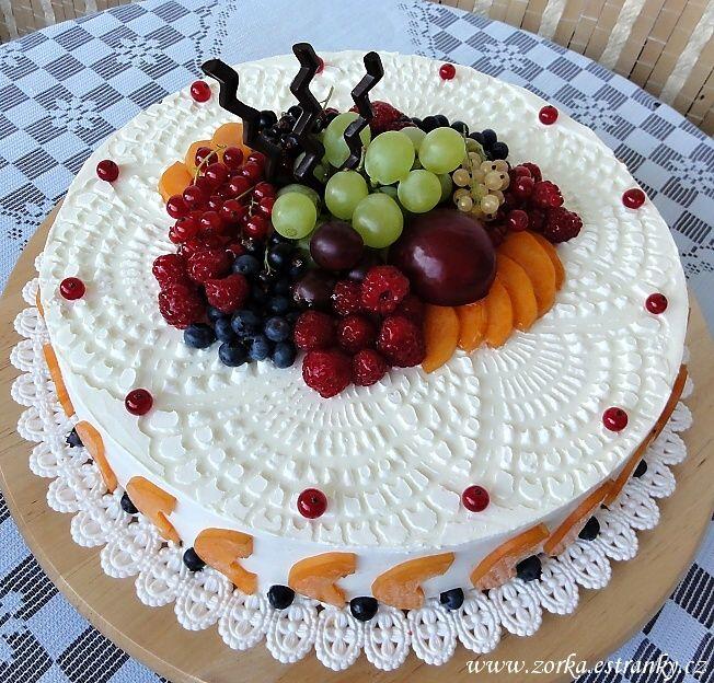 Dorty, řezy, dobroty - Fotoalbum - Moje dorty tematicky řazené - Ovocné dorty