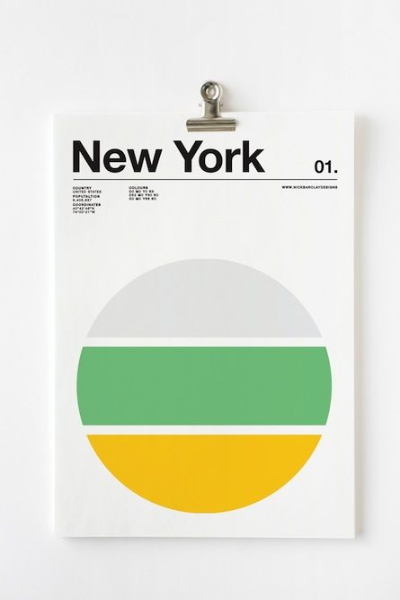 """Nick Barclay """"Cities"""" Poster. http://www.selectism.com/2014/11/19/nick-barclay-cities-posters/"""