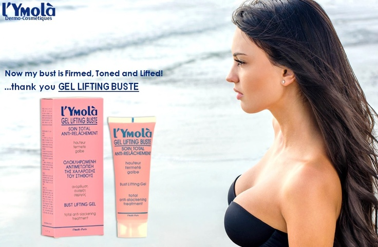 Keep your breasts pampered, firm and beautiful with GEL LIFTING BUSTE!