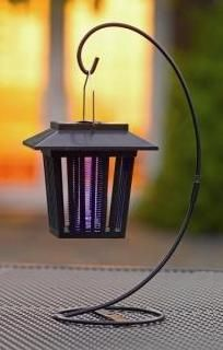 Tired of those pesky insects or mosquitos playing havic to your backyard parties? This decorative solar mosquito zapper uses the power of the sun to allow you to enjoy outdoors without the unpleasant smell of insect repellants or citronella. http://www.mysolarshop.com/solar-insect-zapper-mz012