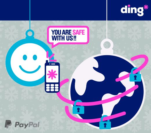 We want to make Christmas simple for you! Its now easier than ever to top up with ding! We have added Paypal to our app! Send a safe & secure top-up for Christmas with ding* in just 3 seconds! #TopUpChristmas  http://m.onel.ink/8033a3a1