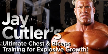 Jay Cutler - Chest and Biceps