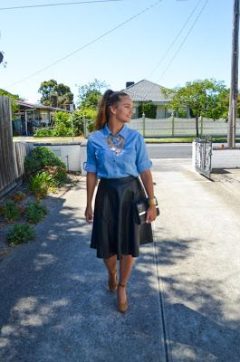 Miss Paton : The Perfect knee length skirt from Omika Australia!