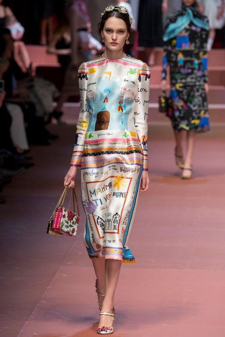 Dolce & Gabbana - Fall 2015 Ready-to-Wear - Look 81 of 91