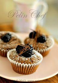 böğürtlenli çikolatalı muffin
