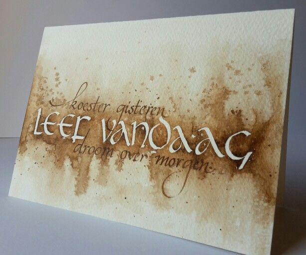 Mooie tekst... # greeting card