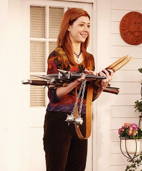 Willow + Weapons | BTVS
