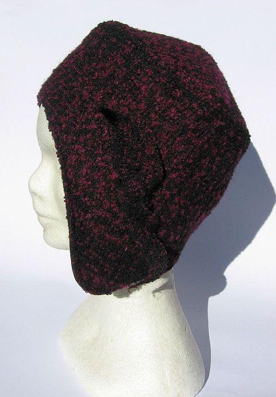 Berretto cappello aviatore  stylisch vintage di Janecolori su Etsy