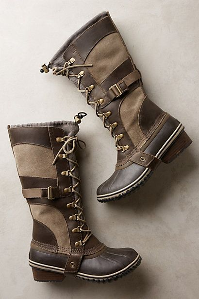 Sorel Conquest Carly Boots - anthropologie.com Sorel can do no wrong - winter 2014? Yes, please.