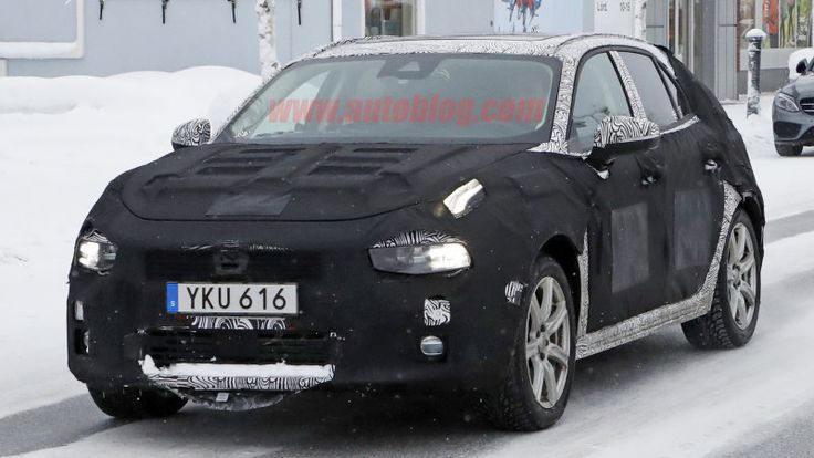 New Lynk & Co hatchback prototype appears for winter testing