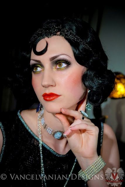 1920s Makeup For My Sexy Gangsta Girl Costume Hopefully I Can - 1920s-makeup-s