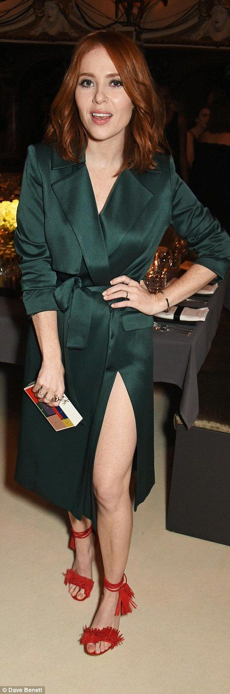 We might have loved TV presenter Angela Scanlon's dress, had it been a coat