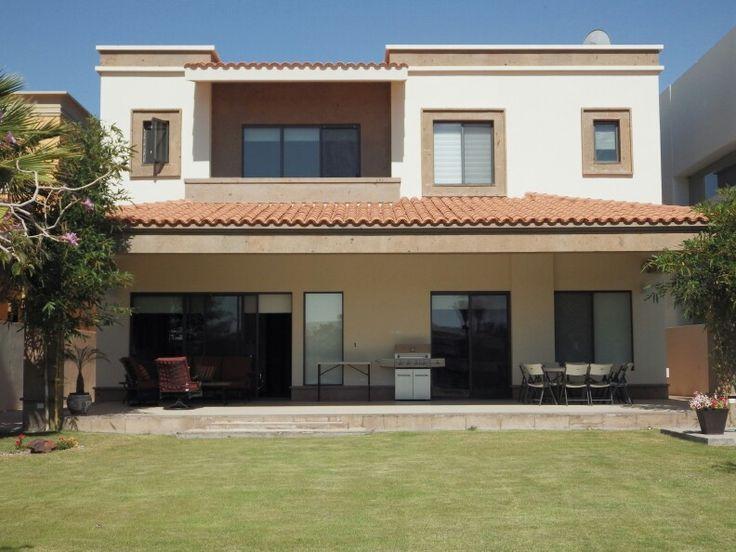 Fachadas de casas fachadas de casas pinterest - Colores para pintar fachadas exteriores ...