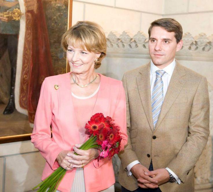 Princess Margarita of Romania and Prince Nicholas of Romania (Principesa Margareta a Romaniei si Principele Nicolae al Romaniei)