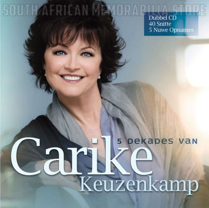 CARIKE KEUZENKAMP - 5 Dekades Van - South African CD CDSEL0106 *New*