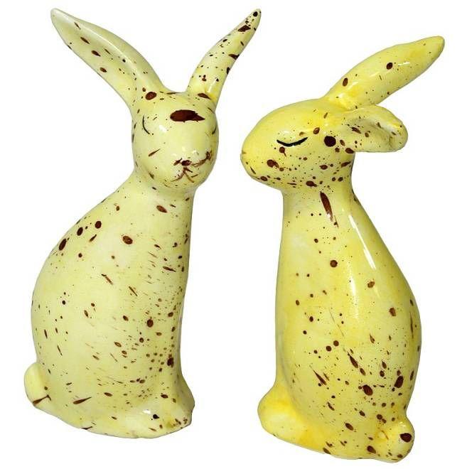 žlutí zajíčci