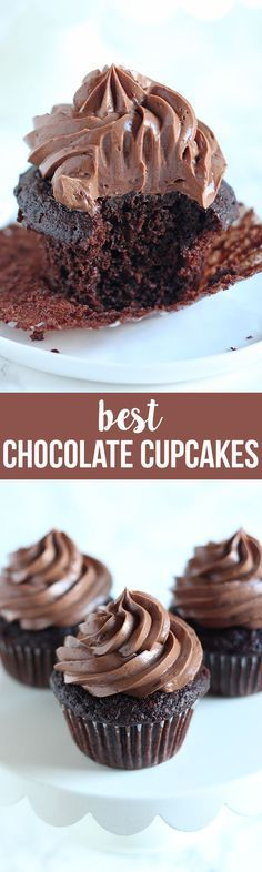 I've finally discovered the BEST Chocolate Cupcake recipe! Truly! Tons of tips here too.