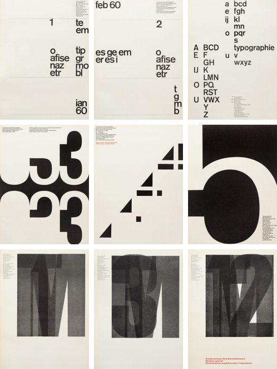 Typographische Monatsblätter #Typography