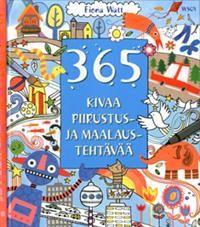 http://www.adlibris.com/fi/product.aspx?isbn=9510378771 | Nimeke: 365 kivaa piirustus- ja maalaustehtävää - Tekijä: Fiona Watt - ISBN: 9510378771 - Hinta: 22,00 €