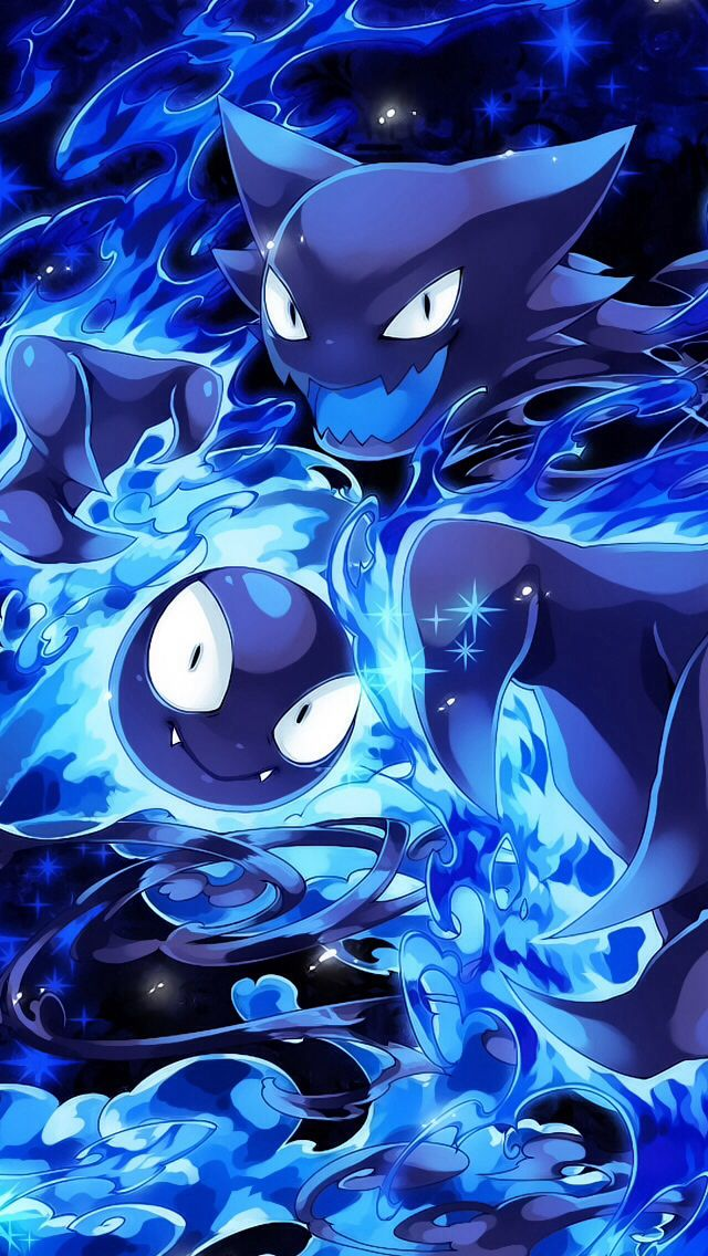 Ghost pokemon haunted and gastly