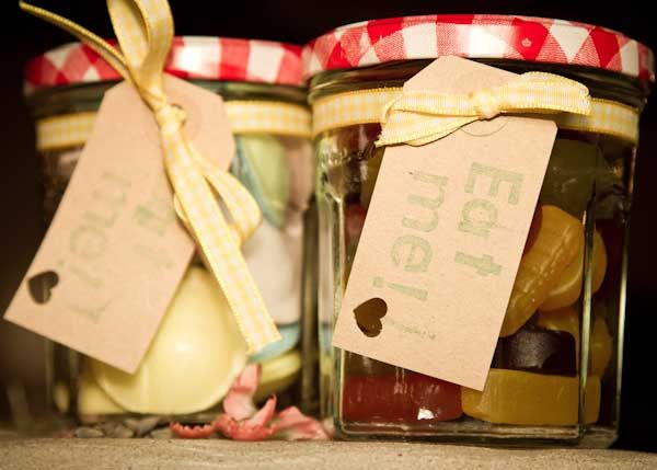 Spoil guests with jars of your favorite candy!