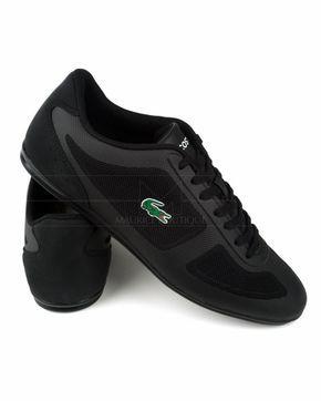 Zapatillas Lacoste negras - Misano Evo