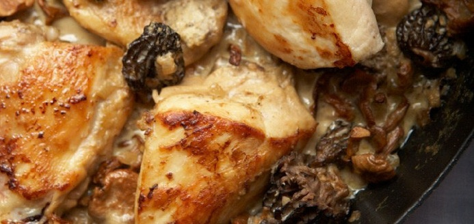 Chicken with Morel Mushrooms Recipes | Ricardo