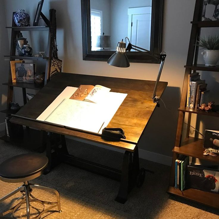 """29 Likes, 1 Comments - Joshua Black (@joshhunterblack) on Instagram: """"Got my new drafting table for traditional sketching and am loving it!  More morning sketches.…"""""""