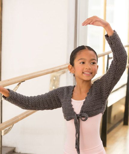 At the Barre Shrug Perfect for colder weather. : )
