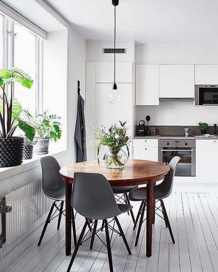 "3,358 gilla-markeringar, 17 kommentarer - Scandinavian Homewares (@istome_store) på Instagram: ""A stunning kitchen diner via @entrancemakleri  Good night all ✨ . #kitchen #kitchendecor…"""