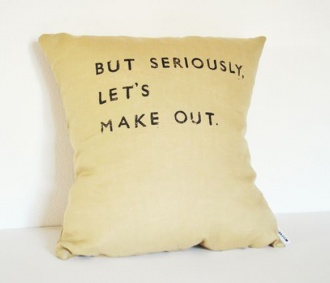 // But Seriously Pillow