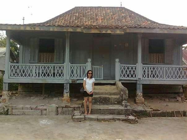 The old traditional house of Bangka, sungailiat bangka island-Indonesia